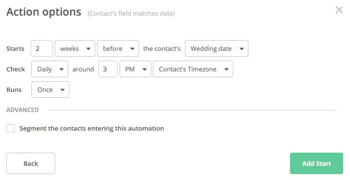 Автоматизация на основе триггеров даты